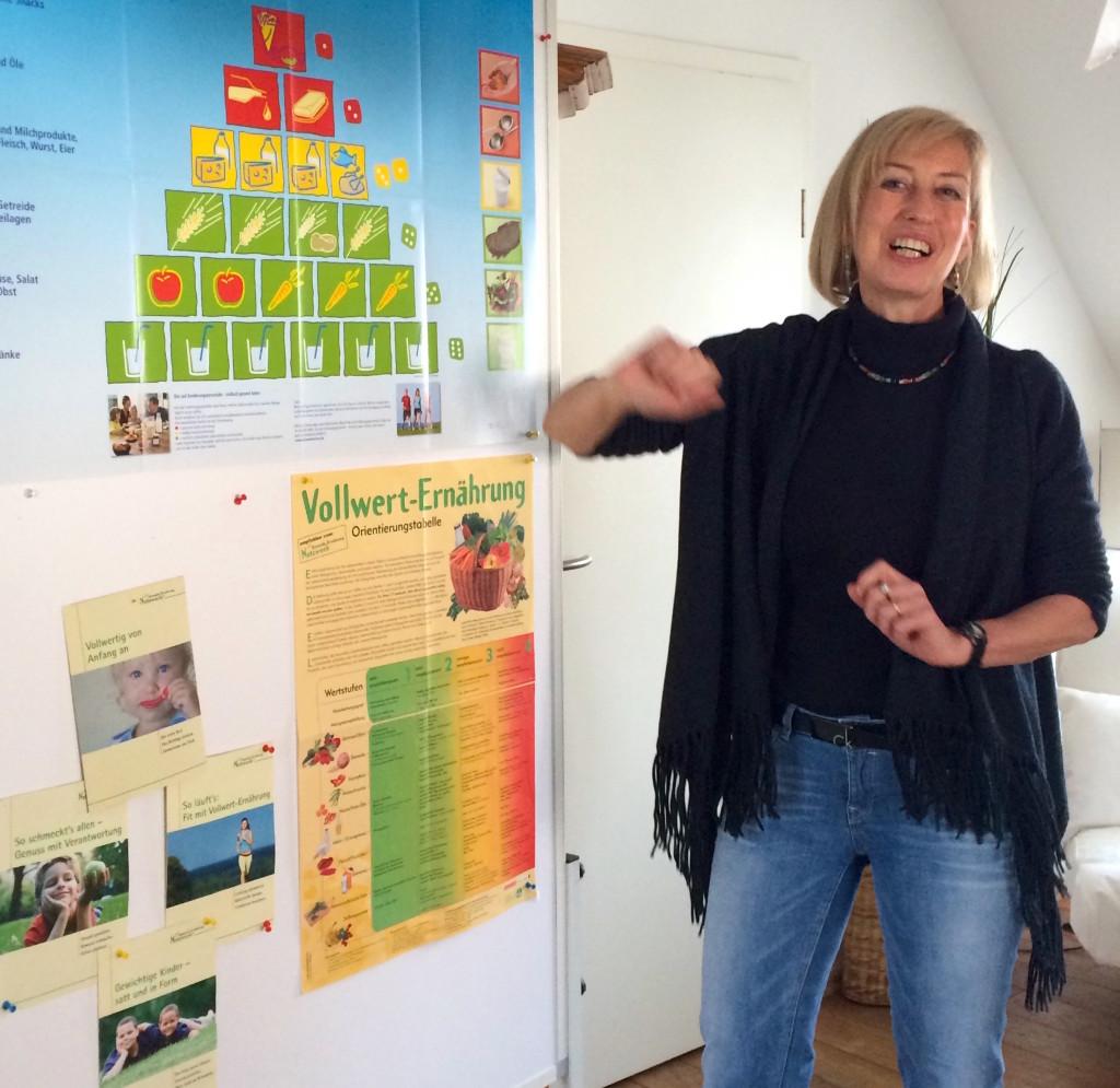 Susanne zeigt vollen Einsatz - bei allen Dingen, die sie anpackt