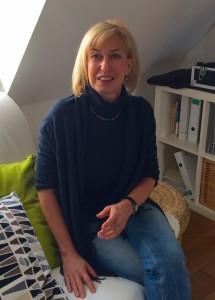 Den Kopf voller Pläne - in ihrem Büro in Leipzig Gohlis